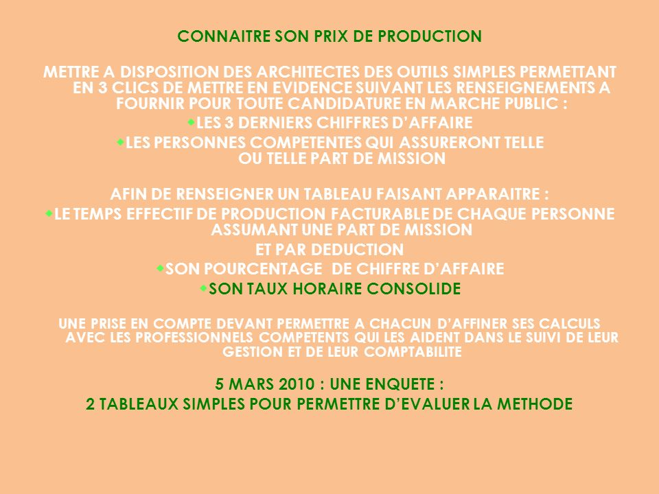 SON TAUX HORAIRE CONSOLIDE