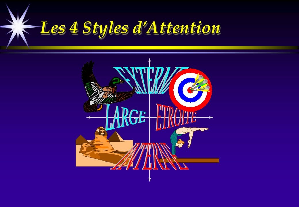 Les 4 Styles d'Attention