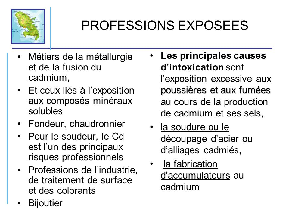 PROFESSIONS EXPOSEES