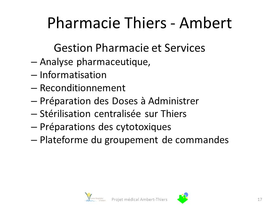 Pharmacie Thiers - Ambert