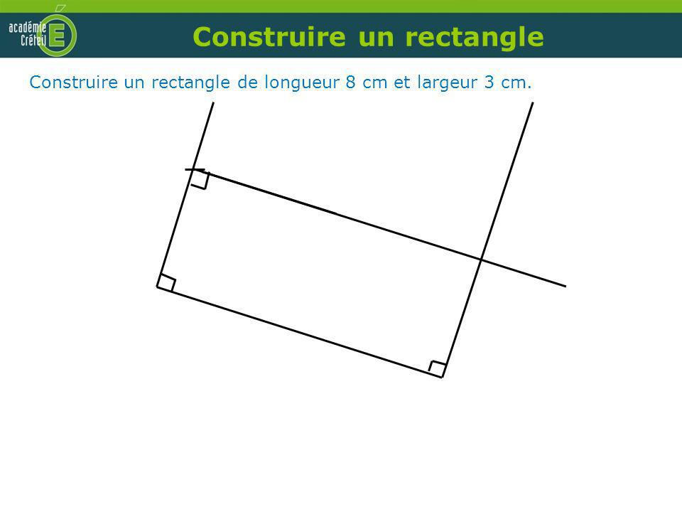 Construire un rectangle