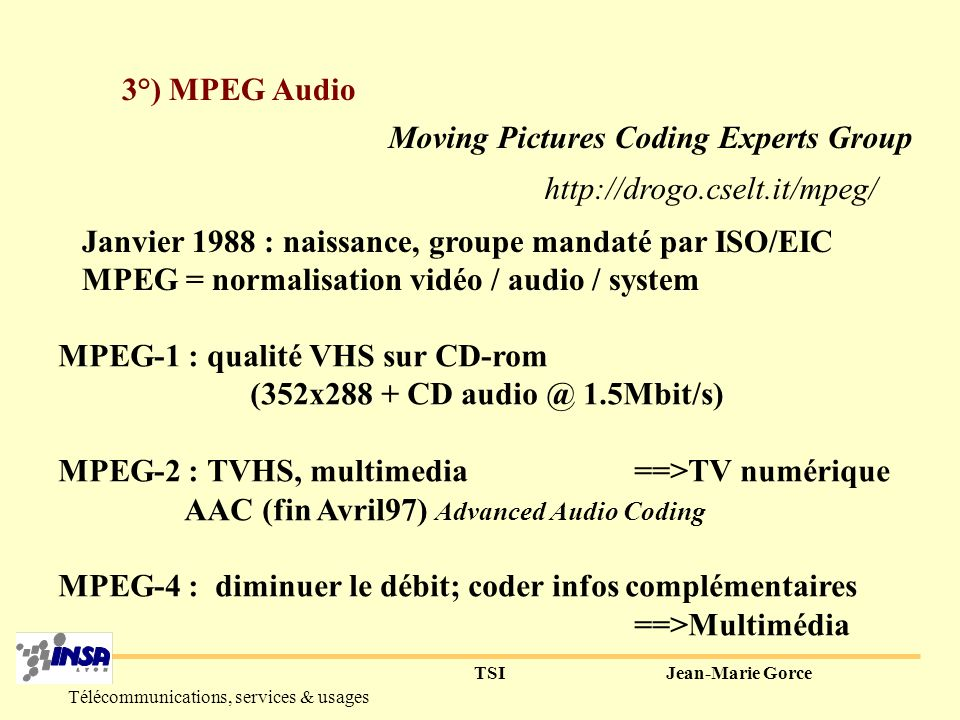 Moving Pictures Coding Experts Group