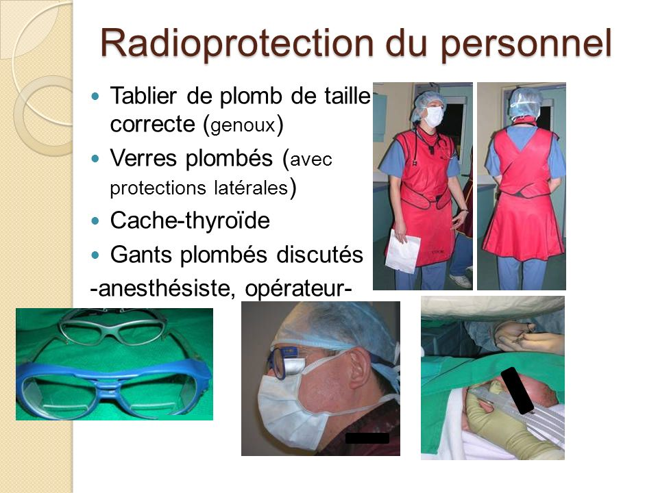 Radioprotection du personnel