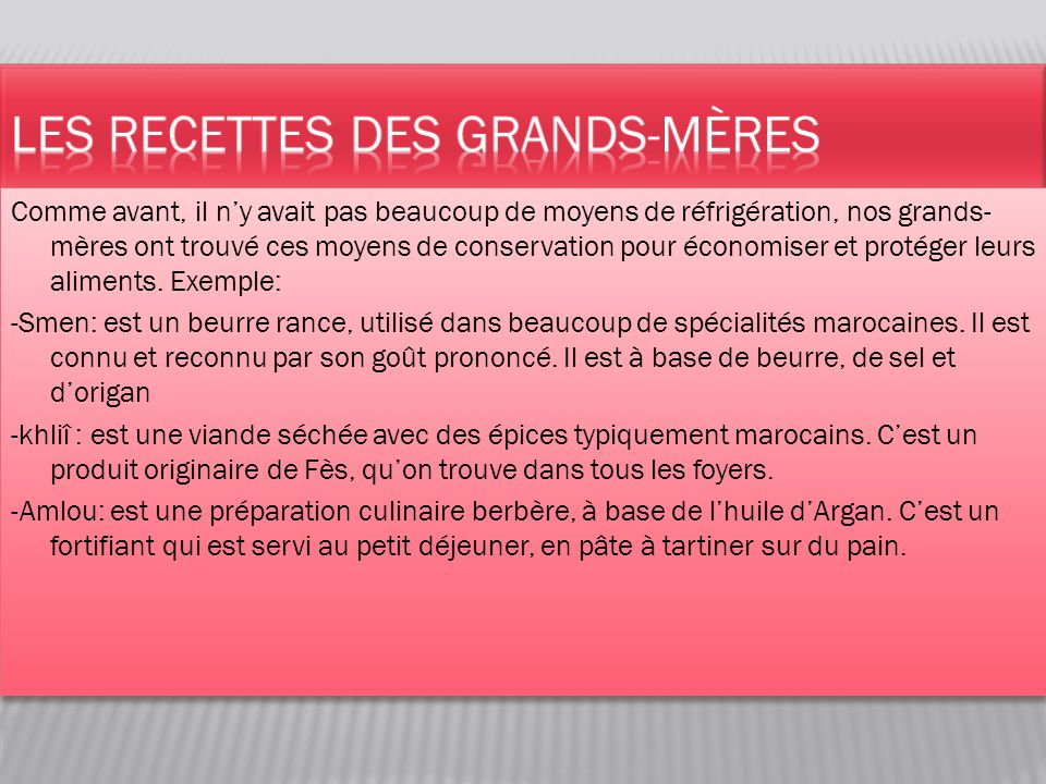 la gastronomie marocaine ppt video online t l charger. Black Bedroom Furniture Sets. Home Design Ideas