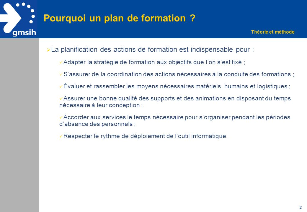 Exemple De Plan De Formation Ppt Video Online Telecharger