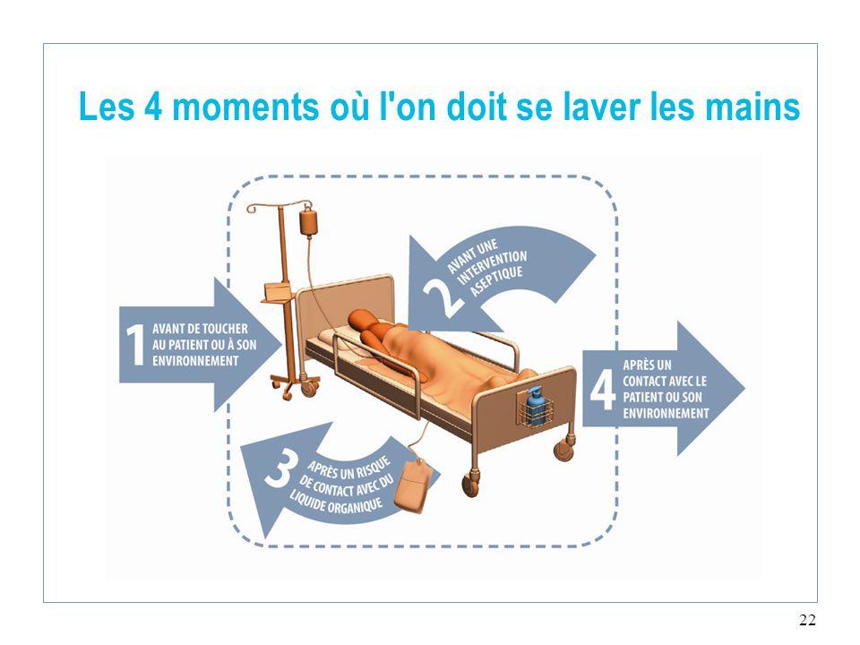 les 4 moments o l 39 on doit se laver les mains ppt video online t l charger. Black Bedroom Furniture Sets. Home Design Ideas