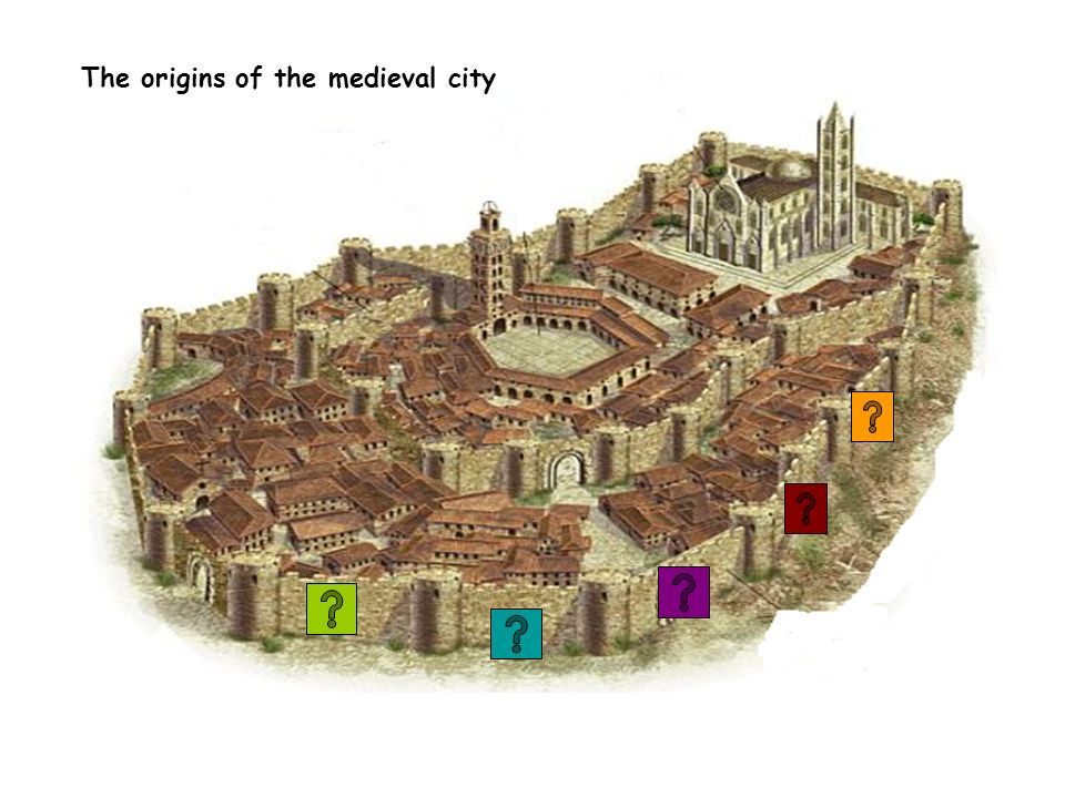 The origins of the medieval city