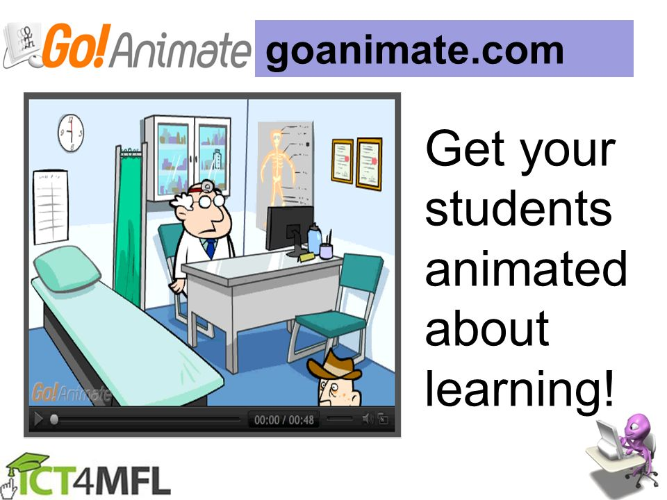 Get your students animated about learning!