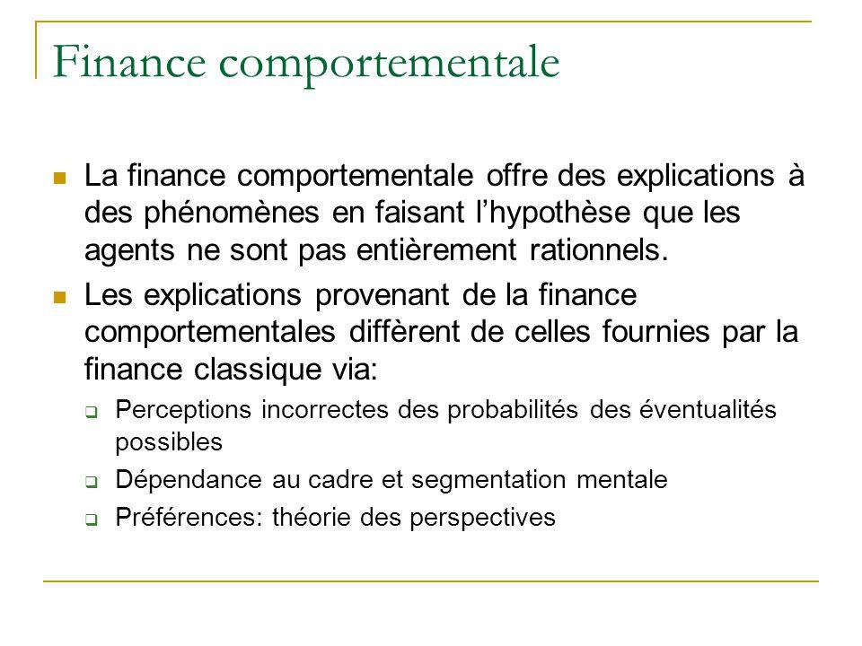 Finance Comportementale Ppt Telecharger