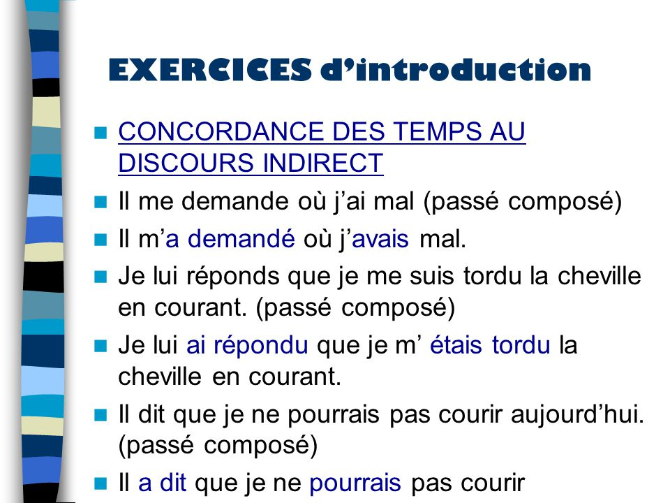 Discours Direct Discours Indirect Ppt Video Online Telecharger