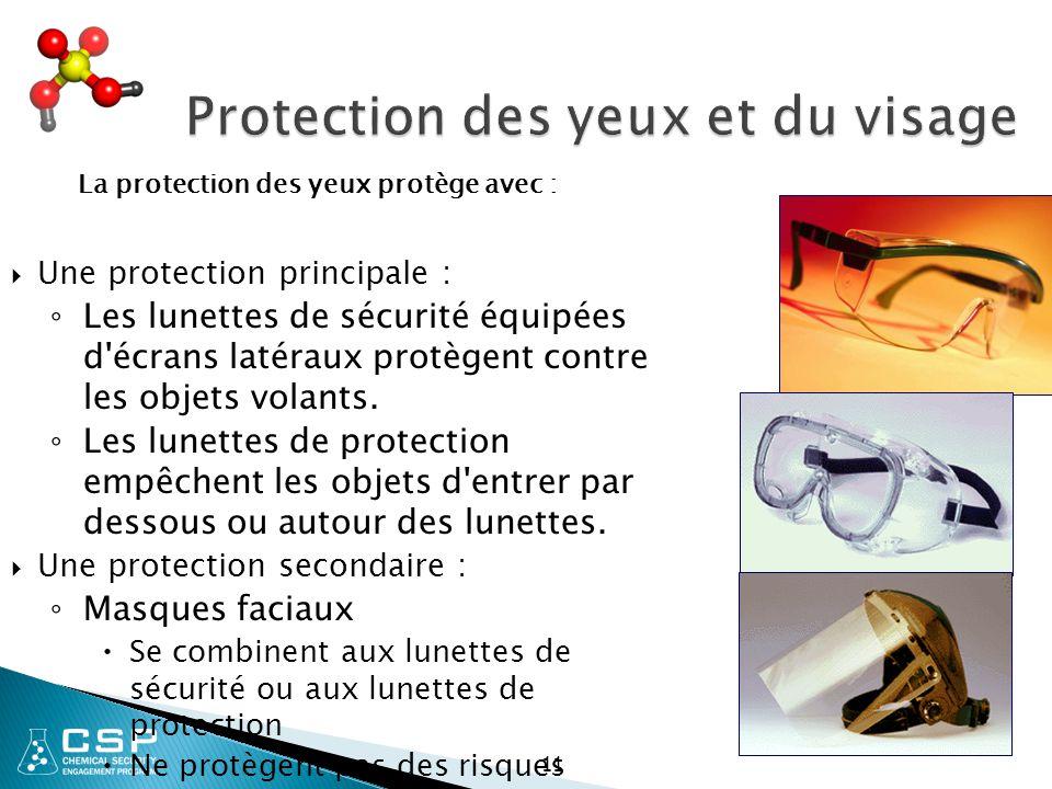 1c9aa1692e Équipement de protection individuelle (EPI) et spécifications de ...
