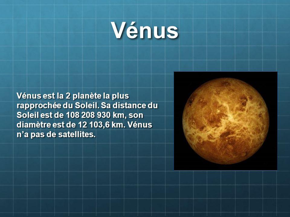 diametre venus