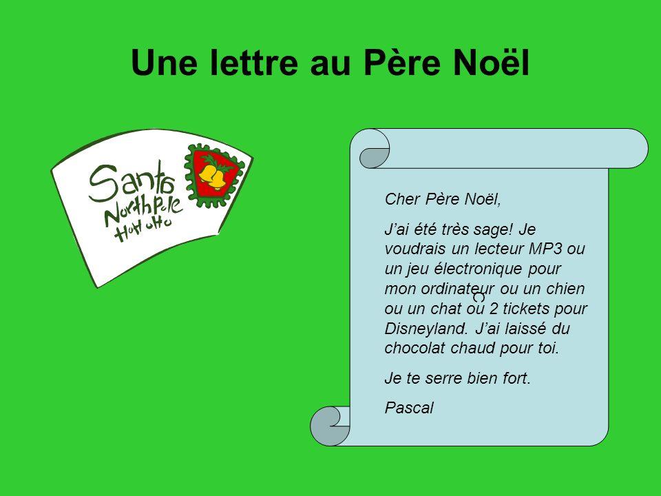 Lettre Electronique Au Pere Noel.Noel En France Quelques Traditions Ppt Telecharger