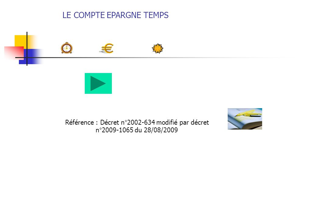 Le Compte Epargne Temps Ppt Telecharger