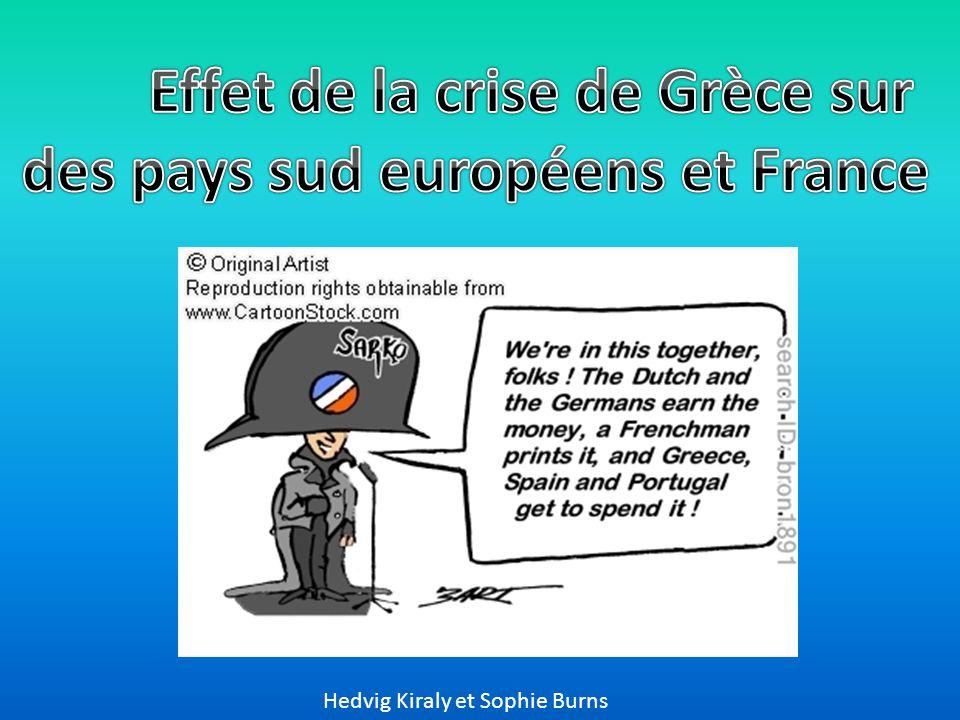effet de la crise de gr u00e8ce sur des pays sud europ u00e9ens et france