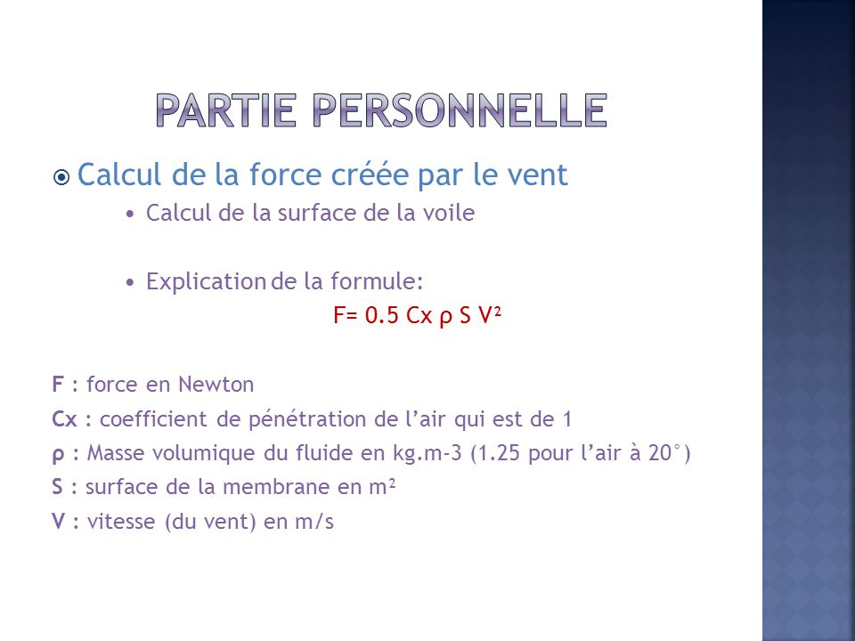 Speaking. Coefficient de penetration dans lair You