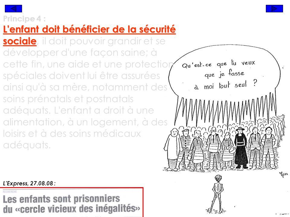 Declaration Des Droits De L Enfant Titres Et Dessins De Presse