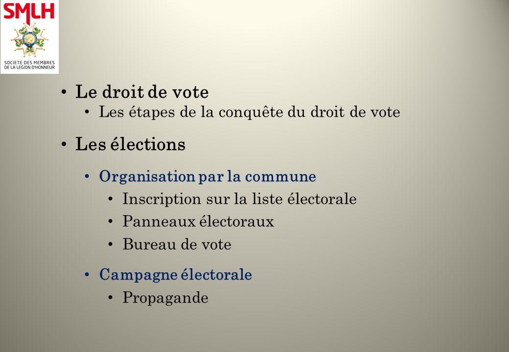 La smlh au conseil g n ral le 27 mai ppt t l charger - Organisation bureau de vote ...