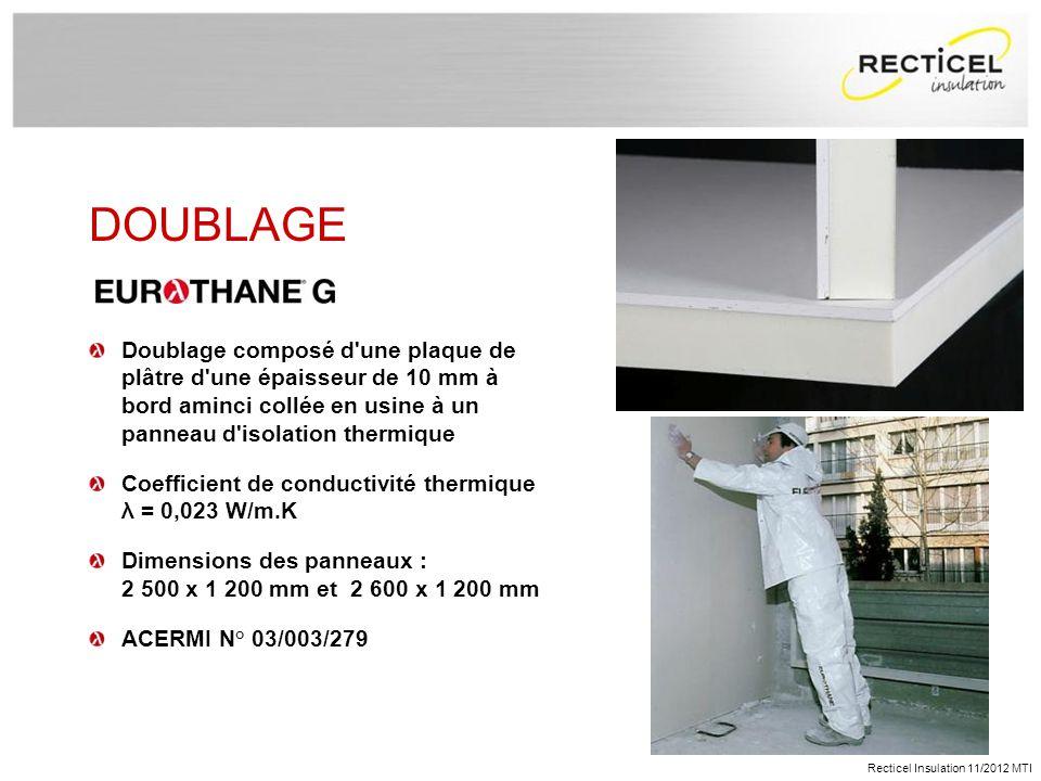 pr sentation recticel le groupe recticel insulation en. Black Bedroom Furniture Sets. Home Design Ideas