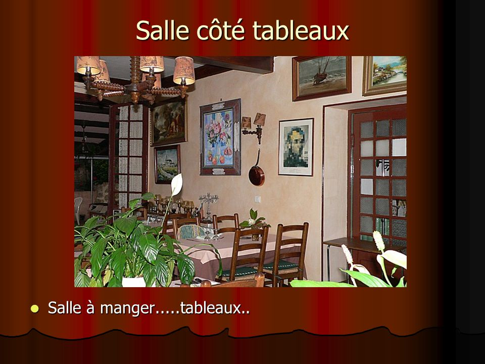 tableau salle a manger top tableau salle a manger with. Black Bedroom Furniture Sets. Home Design Ideas