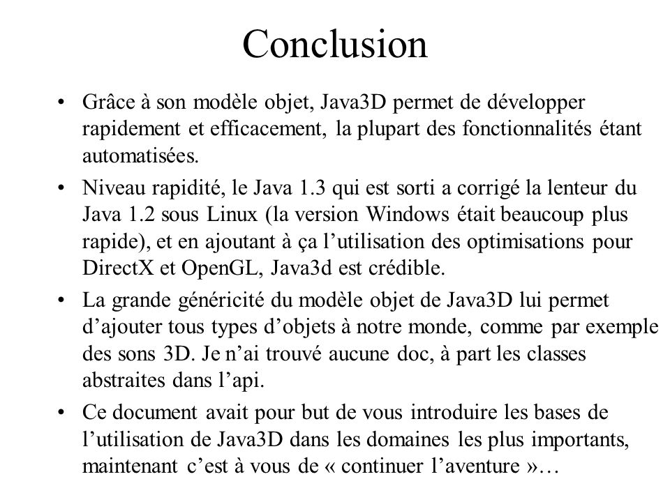 détecter version java