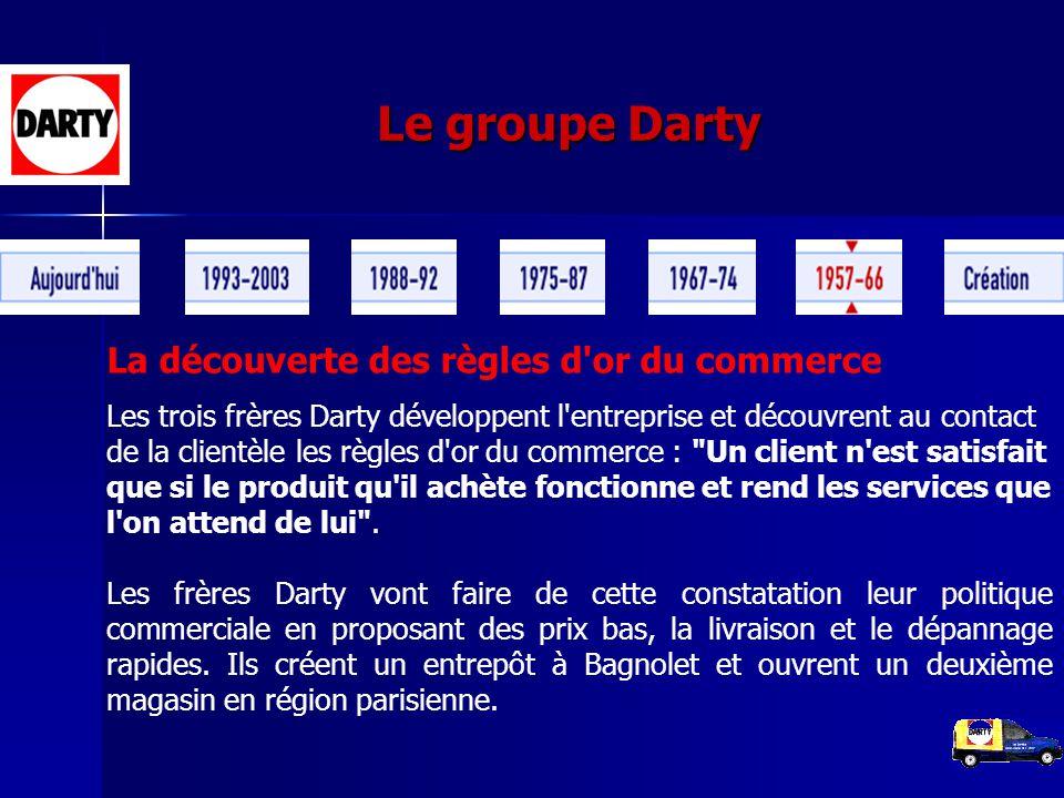le groupe darty la cr ation de darty en 1957 la famille darty le p re et ses trois fils. Black Bedroom Furniture Sets. Home Design Ideas