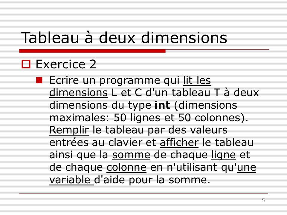 Labo Ii Tableaux Et Pointeurs Ppt Video Online Telecharger