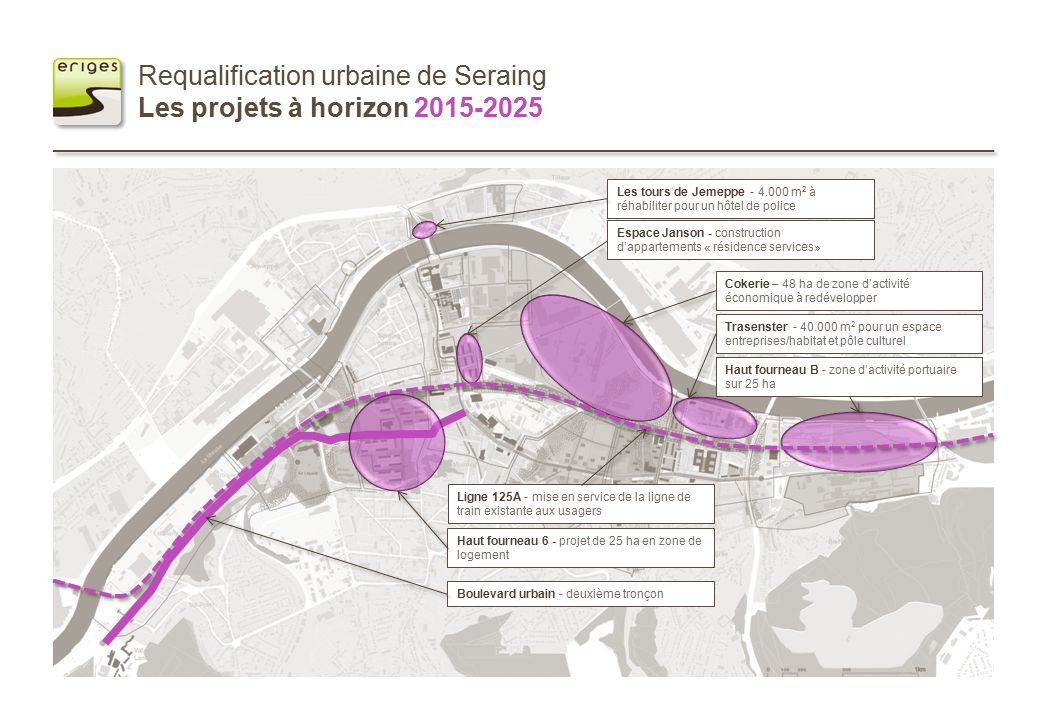 Requalification urbaine de seraing le master plan ppt for Plan de construction en ligne