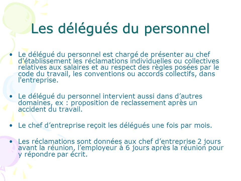 6d7de39340f Les Représentants du personnel   Un droit constitutionnel - ppt ...