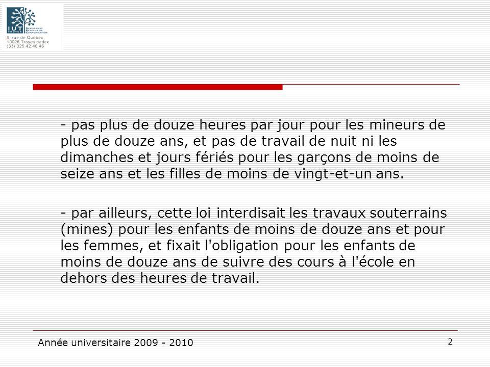 Le Droit Du Travail Est Ne A La Fin Du Xixe Siecle Ppt Telecharger