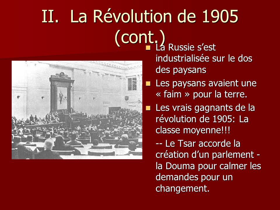révolution russie 1905