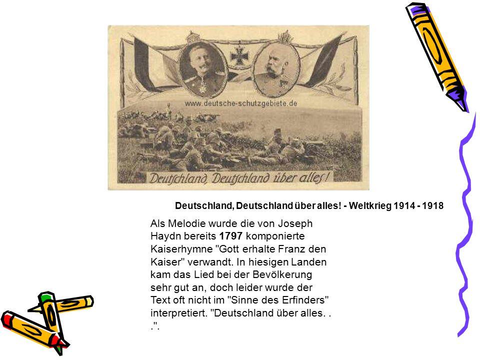 kaiserhymne deutschland text