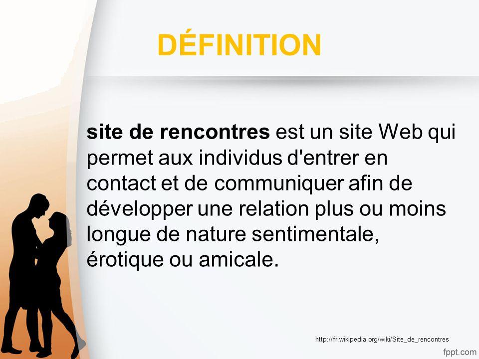 Site de rencontres — Wikipédia