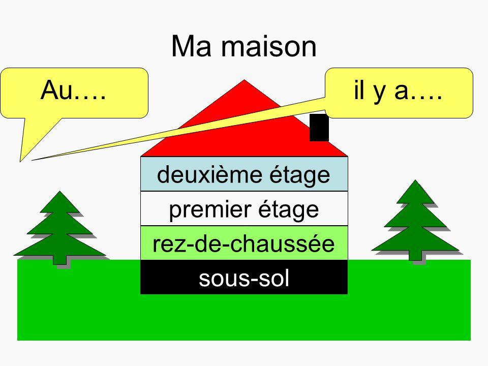 Dom - piętra - Francuski przy kawie