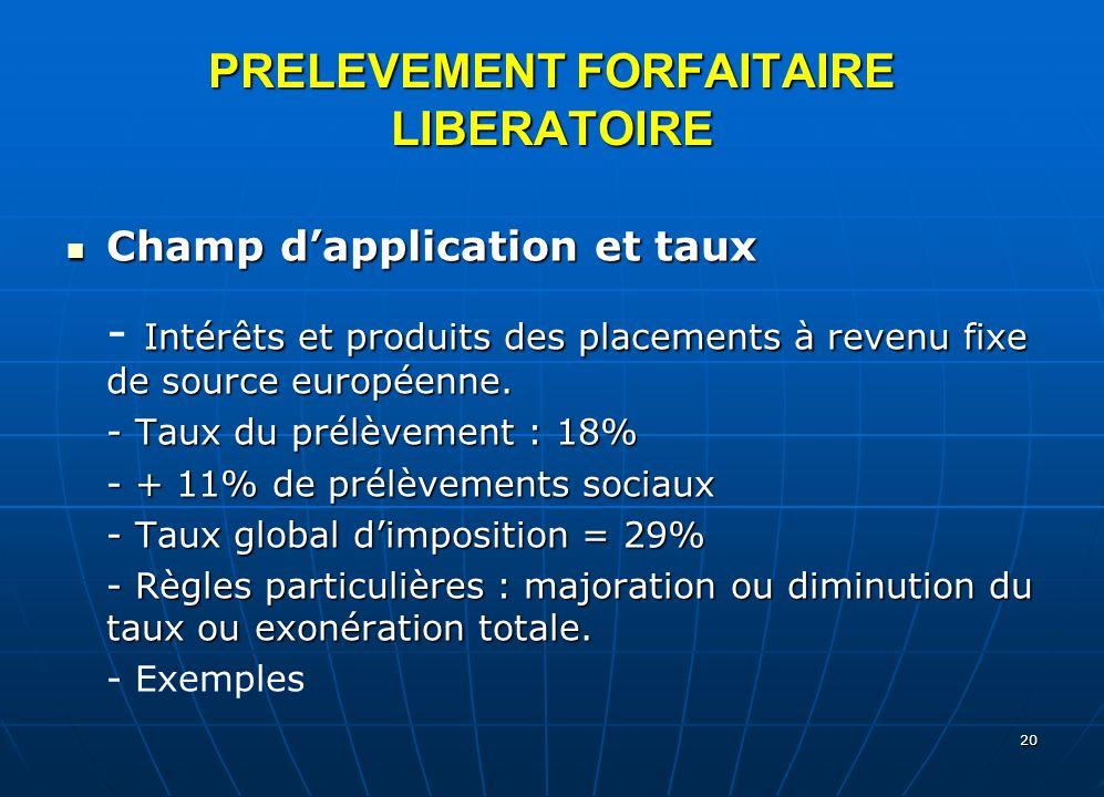 L Impot Sur Le Revenu Categories De Revenus 3 Ppt Video Online