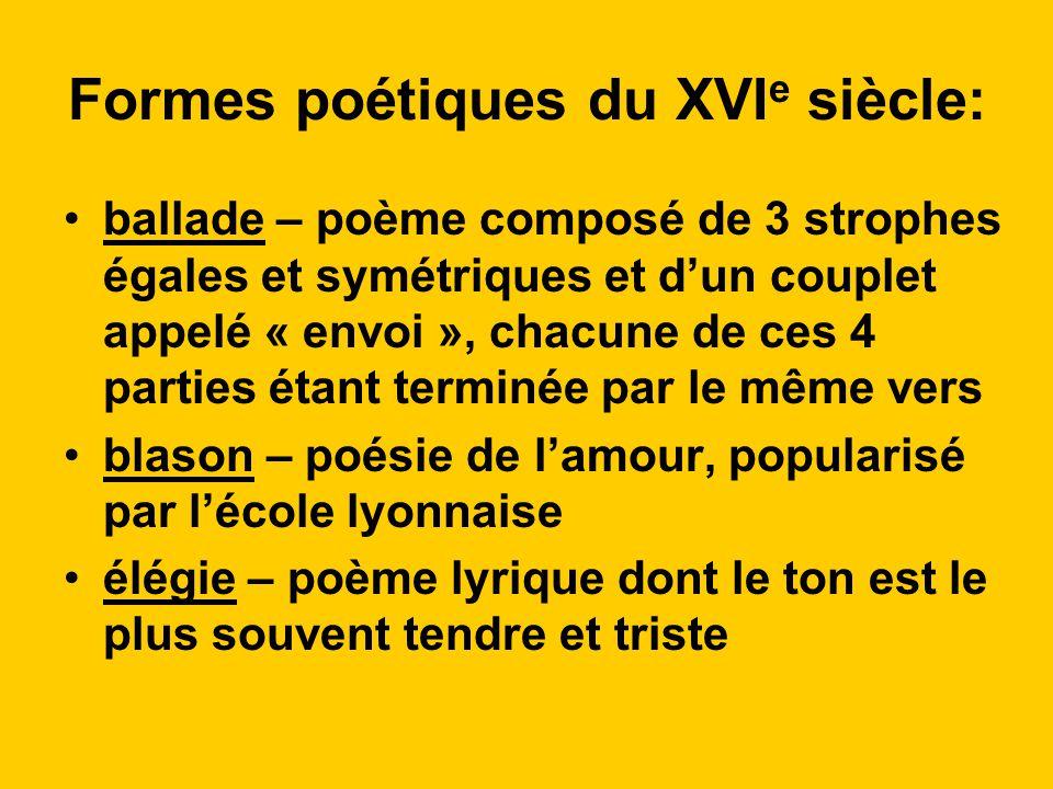 Littérature Au Xvie Siecle Ppt Video Online Télécharger