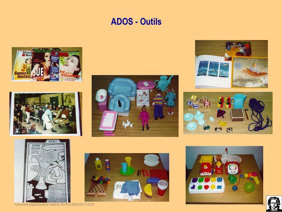 Instruments Diagnostiques De L Autisme Adi R Et Ados Fa 28