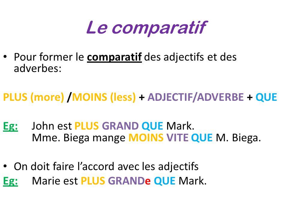 Stopniowanie przymiotnika - gramatyka 7 - Francuski przy kawie