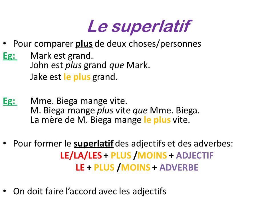 Stopniowanie przymiotnika - gramatyka 8 - Francuski przy kawie