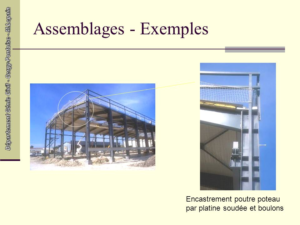 Assemblages - Exemples