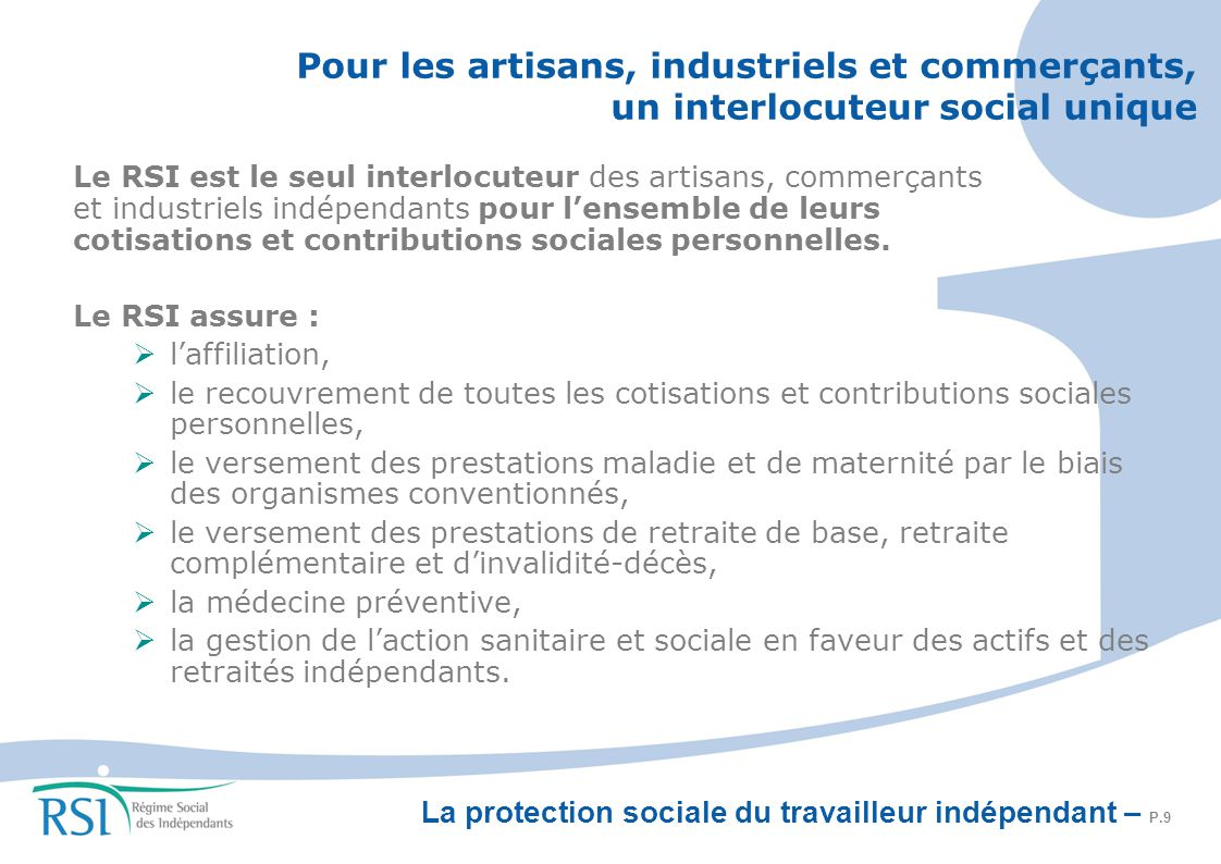 Assure Cotisations Sociales Des Independants Sicilfly