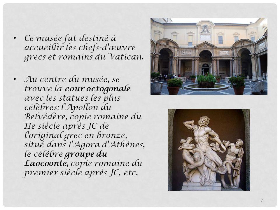 Sommaire Introduction Le Plan Des Mus 233 Es Du Vatican Les border=