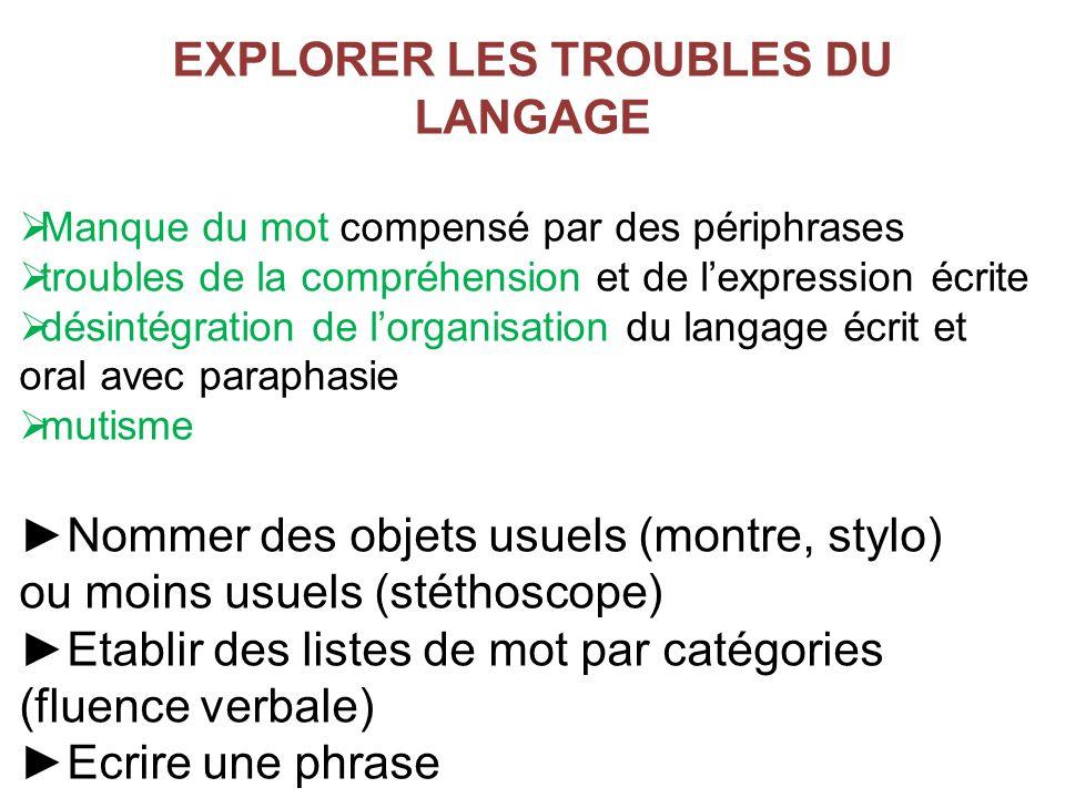 langage écrit et oral