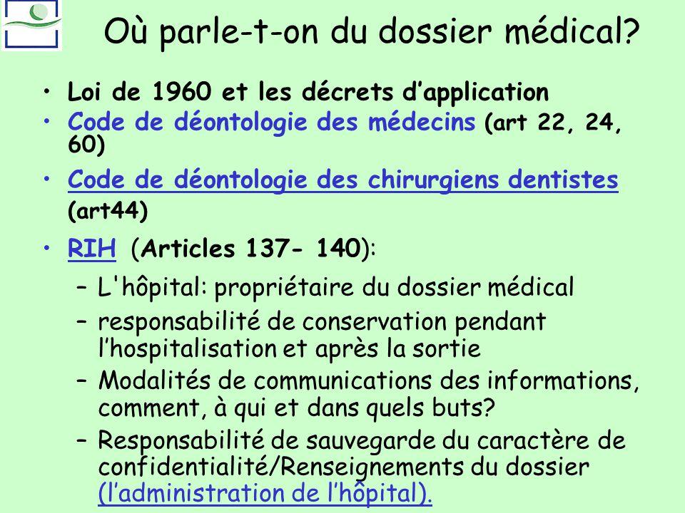 Dossier Medical 04 02 Ppt Telecharger