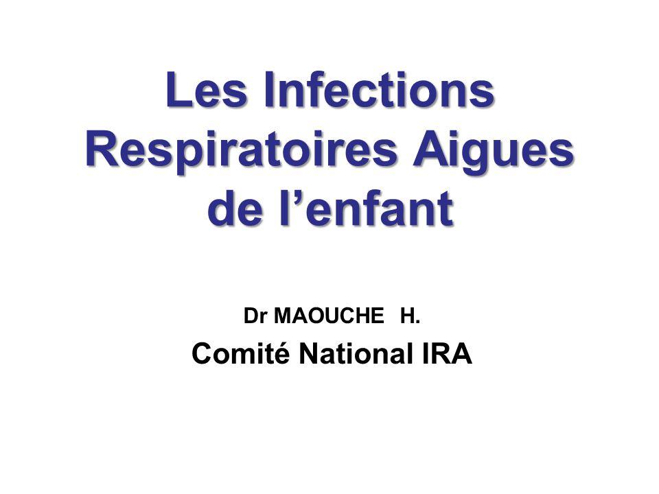 Les Infections Respiratoires Aigues de l'enfant - ppt télécharger