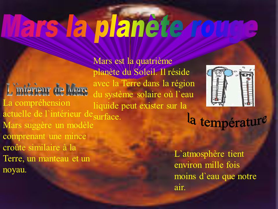 https://slideplayer.fr/3305396/11/images/2/Mars+la+plan%C3%A8te+rouge+la+temp%C3%A9rature+L%60int%C3%A9rieur+de+Mars.jpg