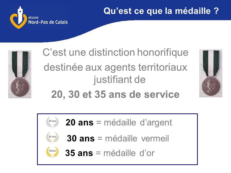 Medaille D Honneur Regionale Departementale Et Communale Ppt