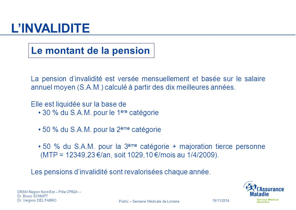 Demande Pension D Invalidite A La Caisse D Assurance Maladie Cpam