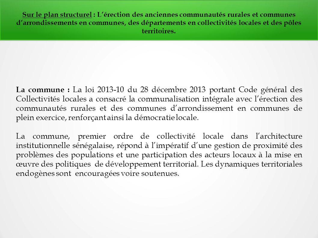 LA DE PDF AU ACTE TÉLÉCHARGER 3 DÉCENTRALISATION SÉNÉGAL
