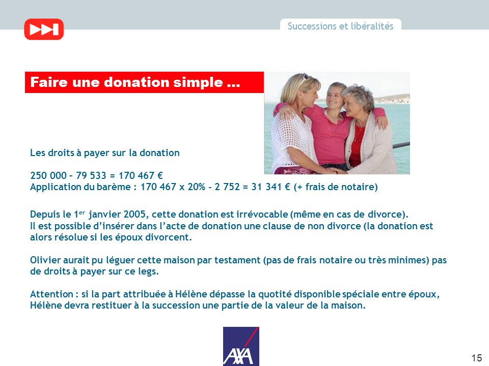 Donation Au Dernier Vivant Steadlane Club